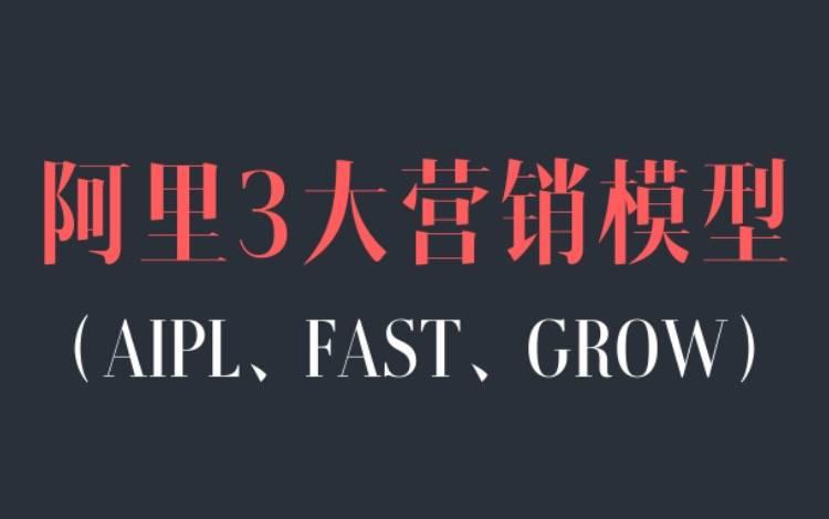 一文讲清楚阿里3大营销模型:AIPL、FAST、GROW