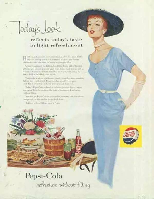 值得学习1898~2019百事可乐广告简史  品牌推广  第9张
