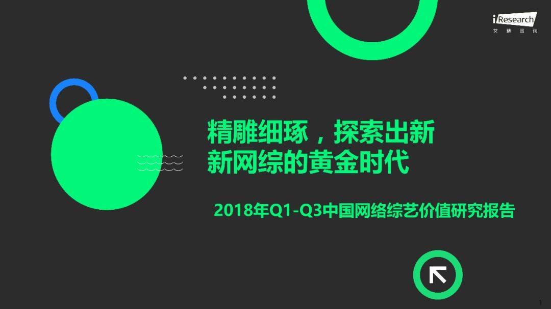 2018年Q1 Q3中国网络综艺价值研究报告  品牌推广  第2张