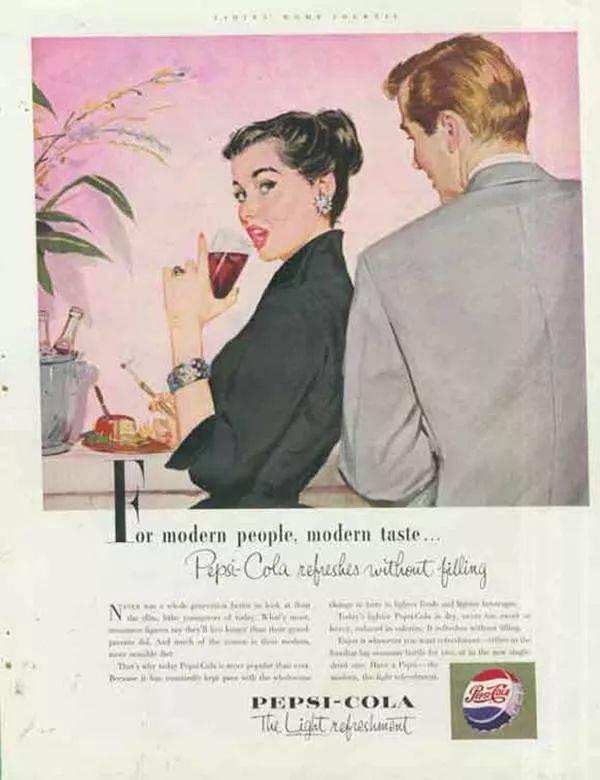 值得学习1898~2019百事可乐广告简史  品牌推广  第7张